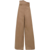 MONSE Cotton-blend Wide-leg Pants - Capri & Cropped -