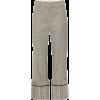 MONSE High-rise checked wool-blend pants - Capri & Cropped -