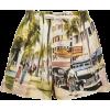MONSE Scenic Printed Silk Shorts - Shorts -