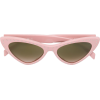 MOSCHINO EYEWEAR cat eye sunglasses - Sunglasses -