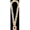 MOSCHINO frame pendant necklace - Ogrlice -