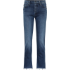 MOTHER The Tomcat high-rise straight jea - Jeans -