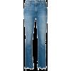 MOTHER frayed hem cropped jeans - Dżinsy -