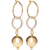 MOUNSER Continium gold-tone cubic zircon - Earrings -
