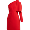 MSGM  Bow-detail crepe mini dress - Dresses -