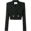 MSGM Cropped Blazer - Jacket - coats -