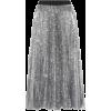 MSGM Pleated sequinned midi skirt - Faldas -
