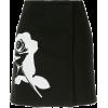 MSGM - Printed rose mini skirt - Krila -