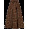 MSGM checked flared skirt - Faldas -