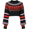 MSGM crop-lenght knitted sweater - Suits -