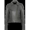 MUUBAA Leather biker jacket - Chaquetas -