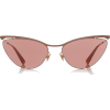 MYKITA cat eye rose gold sunglasses - Sunčane naočale -