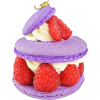 Macaron violet and raspberry - Food -