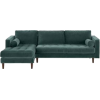 Made teal sofa - Furniture -