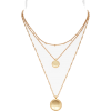 Madewell Coin Layered Necklace - Necklaces -
