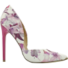 Madison Leah Pink Floral Print Court Hee - Scarpe classiche -