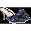 Magda Butrym Chain Satin Mules - Klasične cipele - $430.00  ~ 2.731,61kn