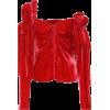 Magda Butrym - Velvet top - Long sleeves shirts -