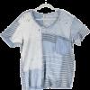 Magnolia Pearl bleu patchwork t-shirt - Majice - kratke -