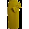 Maida bow detail midi skirt - Skirts -
