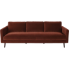 Maison Du Monde Kant velvet sofa - Furniture -