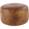 Maison Du Monde leather floor cushion - Furniture -