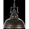 Maison Du Monde small fabric lamp - Luces -