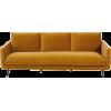 Maison Du Monde sofa in mustard yellow - 室内 -