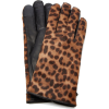Maison Fabre Iggy Leather-Trimmed gloves - Rękawiczki -