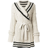 Maison Margiela cable knit cardigan - Cardigan -