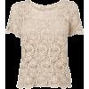 Majica T-shirts Beige - Tシャツ -