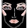Makeup Face - Ilustracje -