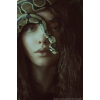Make up and snake - People -