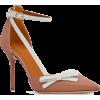 Malone souliers JOSIE 85MM NUDE NAPPA WH - Klasični čevlji -