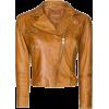Mango Leather Biker Jacket - Jacket - coats -