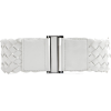 Mango Women's Braided Waist Belt White - Belt - $19.99
