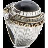 Mango Women's Circular Dome Ring Black - Anelli - $29.99  ~ 25.76€