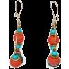Mango Women's Ethnic Style Loop Earrings - Earrings - $14.99
