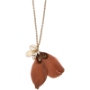 Mango Women's Feather And Shell Necklace - Necklaces - $24.99