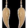 Mango Women's Feather Metallic Earrings - Earrings - $14.99