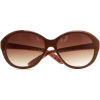 Mango Women's Oversize Sunglasses Chocolate - Sunglasses - $34.99