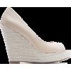 Mango Women's Peep-toe Wedge - ウェッジソール - $69.99  ~ ¥7,877