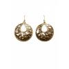 Mango Women's Round Earrings - Earrings - $14.99