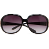 Mango Women's Round Sunglasses Black - Sunglasses - $34.99