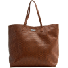 Mango Women's Shopper Bag Leather - Bag - $44.99