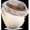 Mango Women's Strass Embellished Ring Red - Prstenje - $19.99  ~ 17.17€