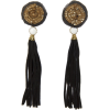 Mango Women's Tassel Long Earrings - Earrings - $19.99
