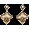 Mango Women's Triangular Earrings - Naušnice - $19.99  ~ 126,99kn