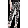 Mango Women's Zebra Print Trousers Black - Pants - $54.99