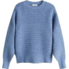 Mango blue sweater - Pullovers -